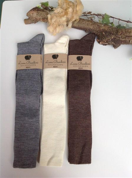 Chaussettes en laine Chiara Lungo - Lana Bambini