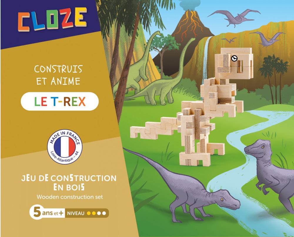 Cloze le T-Rex lot de construction - 41 pièces