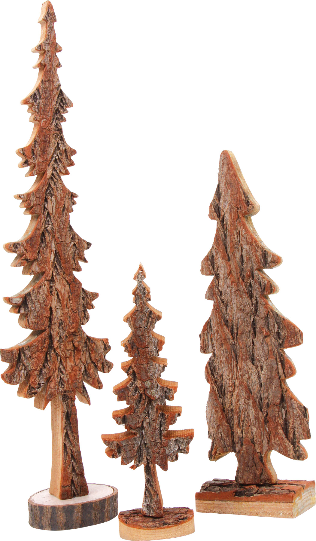 Sapins de décoration - Lot de 3