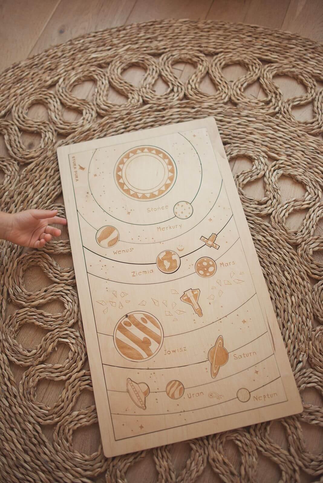 Puzzle le système solaire Stuka Puka