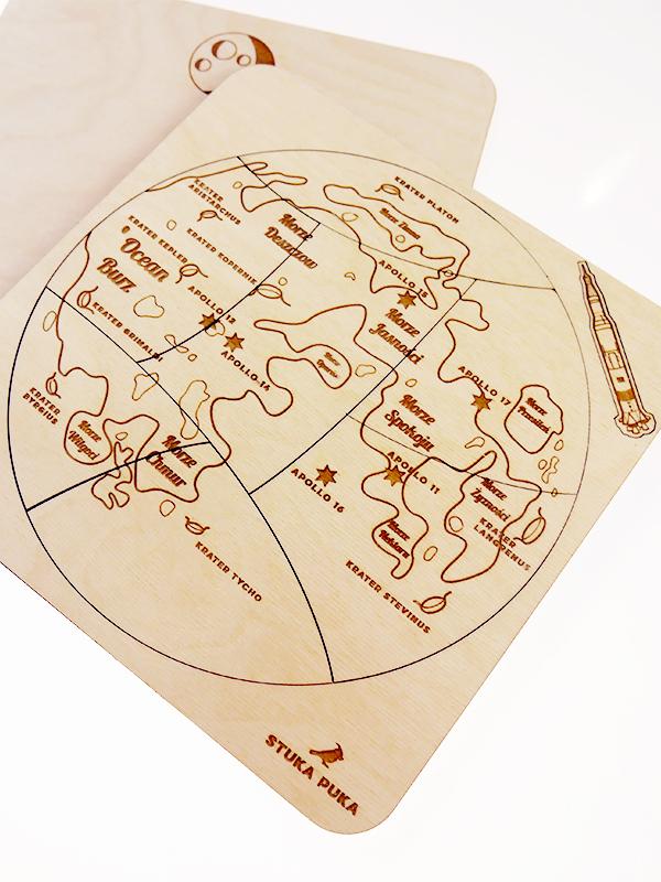 Puzzle Stuka Puka Les couches de la Terre