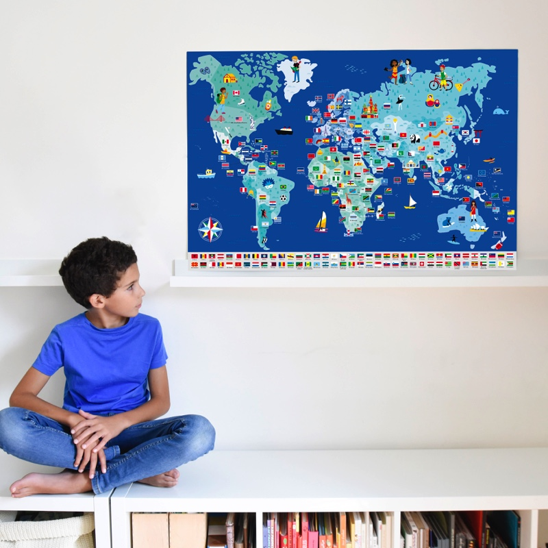 Jeu-educatif-Poppik-Puzzle-Stickers-Autocollants-affiche-drapeaux-10