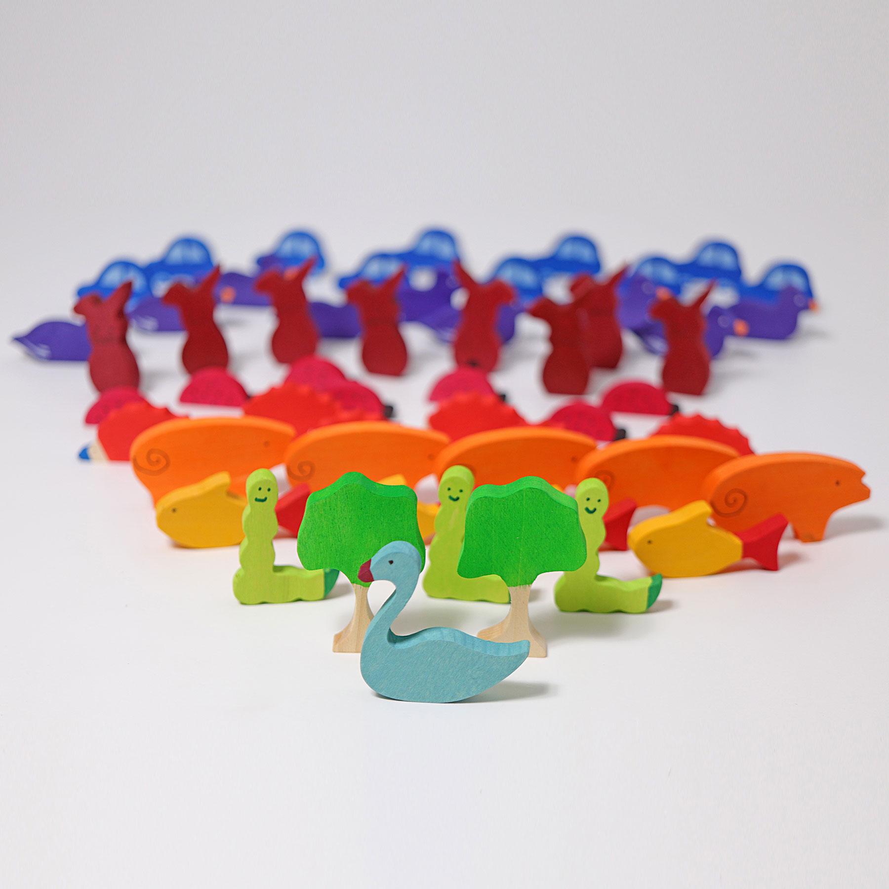 Figurines pour compter ou raconter des histoires -Lot de 55 Grimm's