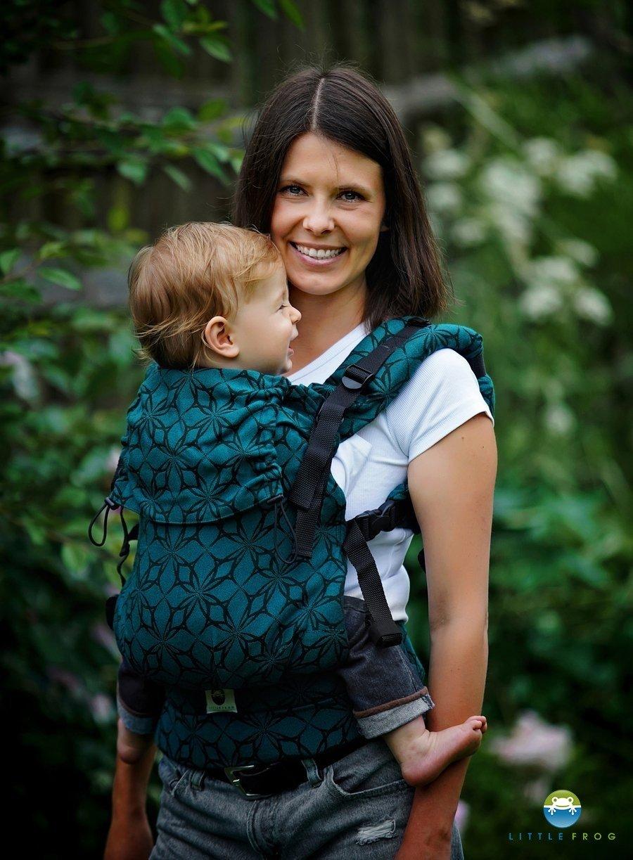 Little Frog Porte-bébé Toddler Emerald Edelweiss