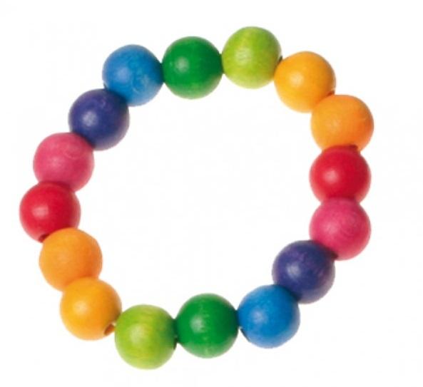Bracelet Arc-en-ciel perles 12mm GRIMM\'s