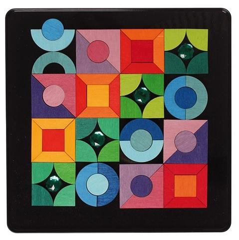 Puzzle Magnétique Triangle, carré, cercle GRIMM\'s