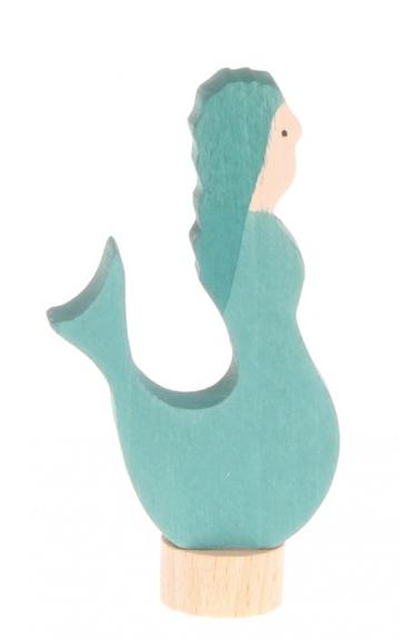 Figurine en bois Sirène GRIMM\'s
