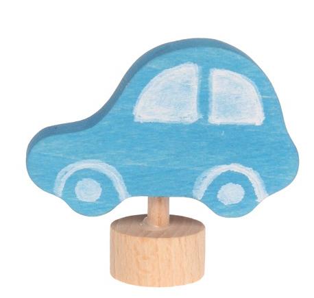 Figurine en bois Voiture bleue GRIMM\'s