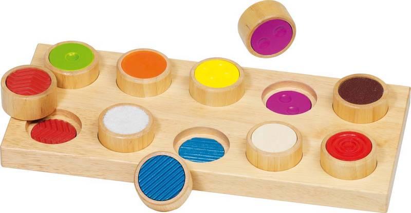 Mémo Tactile 10 pièces GOKI