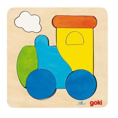 Puzzle en bois Locomotive GOKI