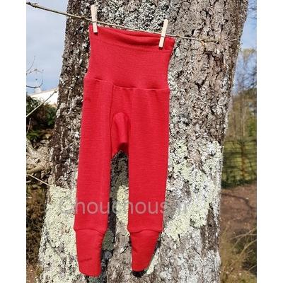 Cosilana Pantalon Rouge - laine/soie