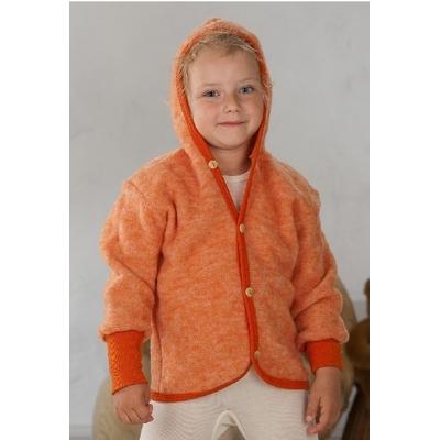 Cosilana gilet avec capuche Orange