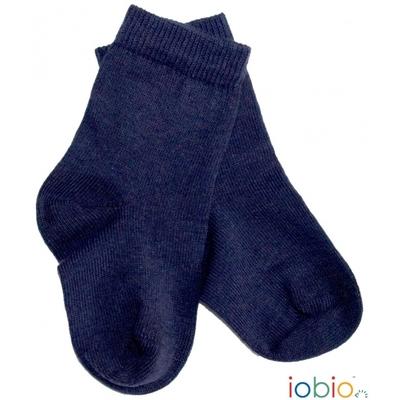 Chaussettes Coton BIO Bleu foncé Popolini