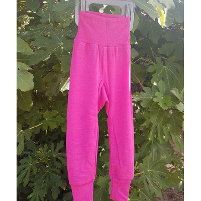 Cosilana Pantalon Rose - laine/soie