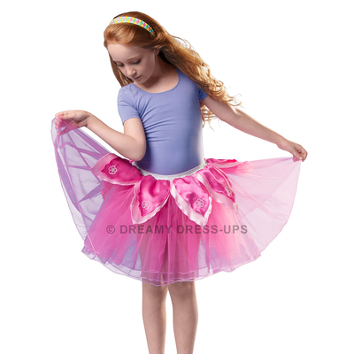Tutu fleur rose vif/rose Dreamy Dress Ups