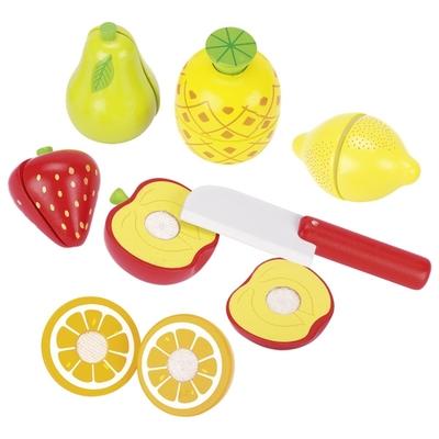 Fruits en bois avec scratch GOKI