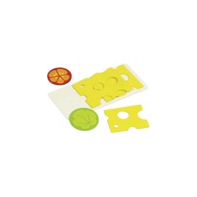 Tranches de fromage et tomate 1 feuille de salade - jouet en bois GOKI