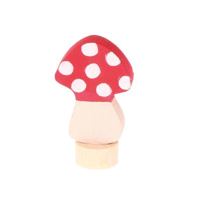 Figurine en bois champignon GRIMM's