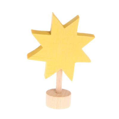 Figurine en bois étoile GRIMM's