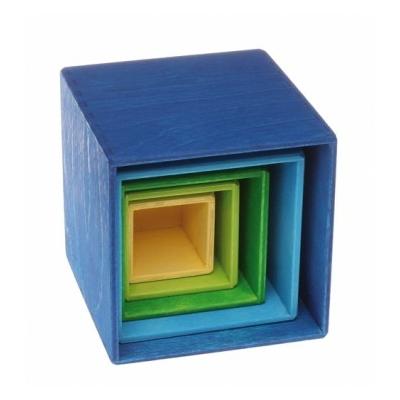 Cubes à empiler Bleu GRIMM's