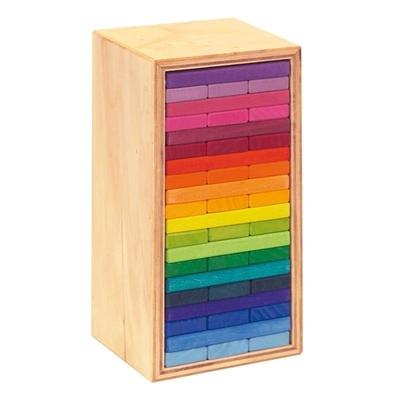 Tour de planchettes, 60 pièces, 20 couleurs Glückskäfer