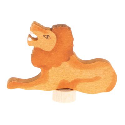 Figurine en bois Lion (peint main) Grimm's