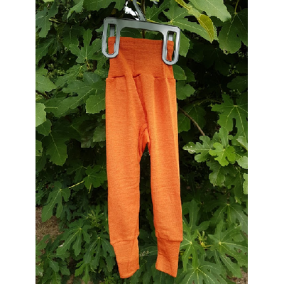 Pantalon Orange Cosilana - Laine/Soie