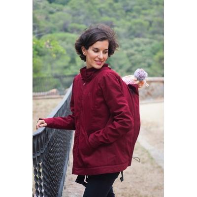 Manteau de portage Momawo Red