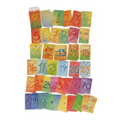 48 Cartes des Chiffres & Calculs Grimm's - Set complémentaire
