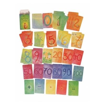 48 Cartes des chiffres et Calculs Grimm's