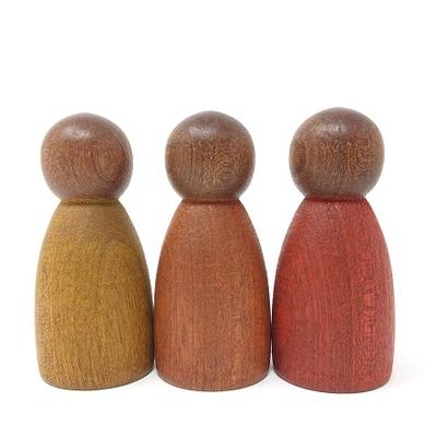 3 Ninsbois clair couleurs chaudes - Grapat