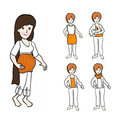 MaM MultiTube en laine pour femme - différents coloris