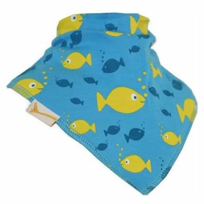 Bavoir Bandana Funky Giraffe: Les petits poissons dans l'eau