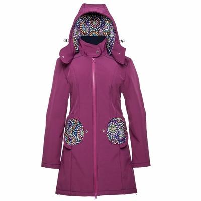 Liliputi Mamacoat manteau de portage et grossesse 4en1 Mandala Bloom
