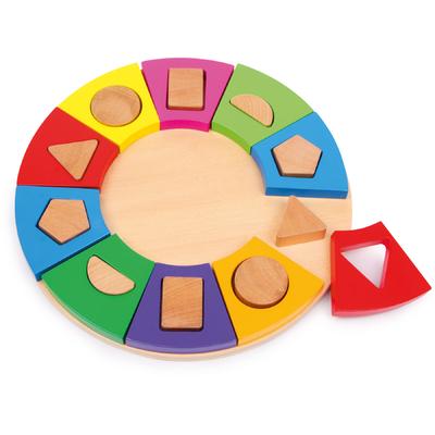 Puzzle à encastrer Formes Cercle Small Foot