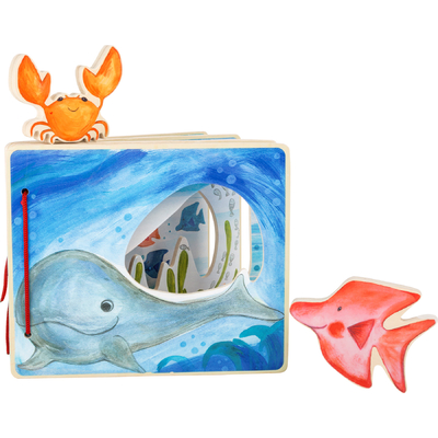 "Livre d'images ""Monde sous-marin"" Small Foot"