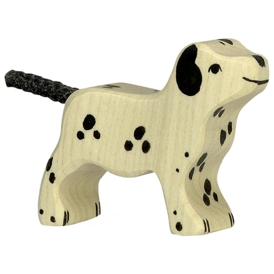 Dalmatien debout, petit Holztiger