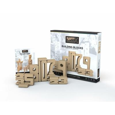 Sumblox lot de 43 pièces - chiffres en bois