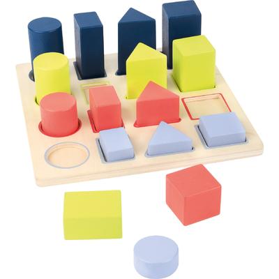 Puzzle Educatif en bois Géométrie Small Foot