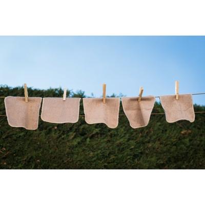 Lot de 5 lingettes lavables Néobulle