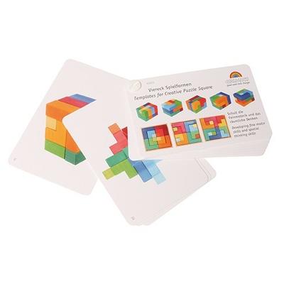 Livre de modèles du puzzle créatif carré Grimm's