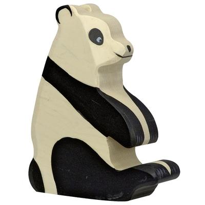 Panda assis Holztiger