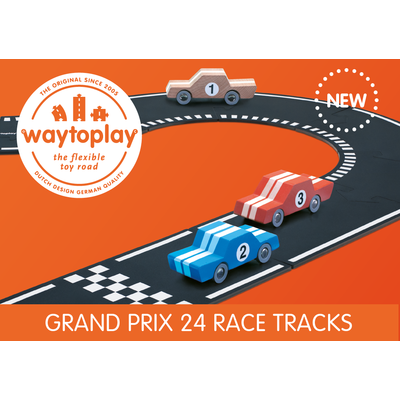 Grand Prix Route Way to Play - 24 pièces