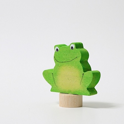 Figurine en bois Grenouille Grimm's