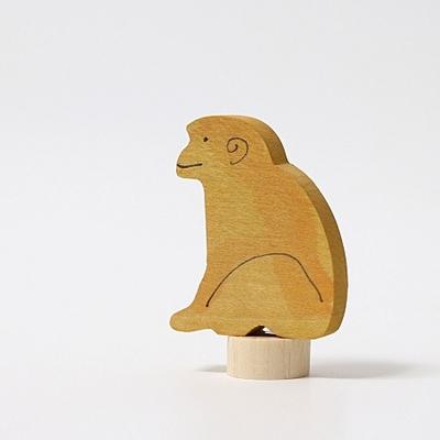 Figurine en bois Singe assis Grimm's