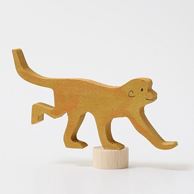 Figurine en bois Singe Grimm's