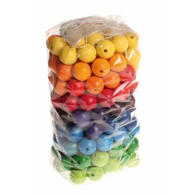 120 Perles en bois 12mm GRIMMS