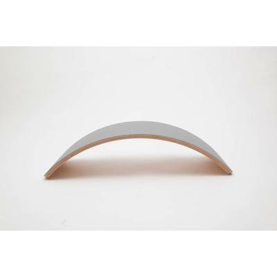 Wobbel planche d'équilibre Bambou Pro feutre Gris souris