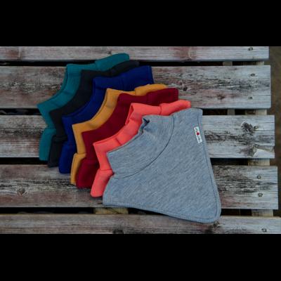 ManyMonths Dickie col en laine -différents coloris-
