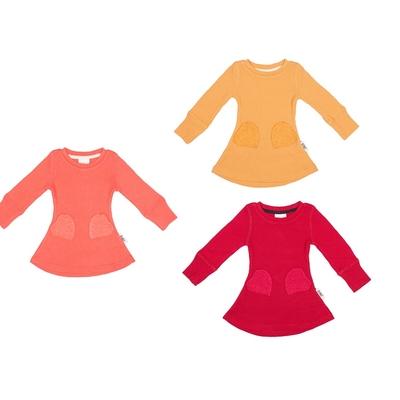 ManyMonths Robe poches coeur en laine -différents coloris